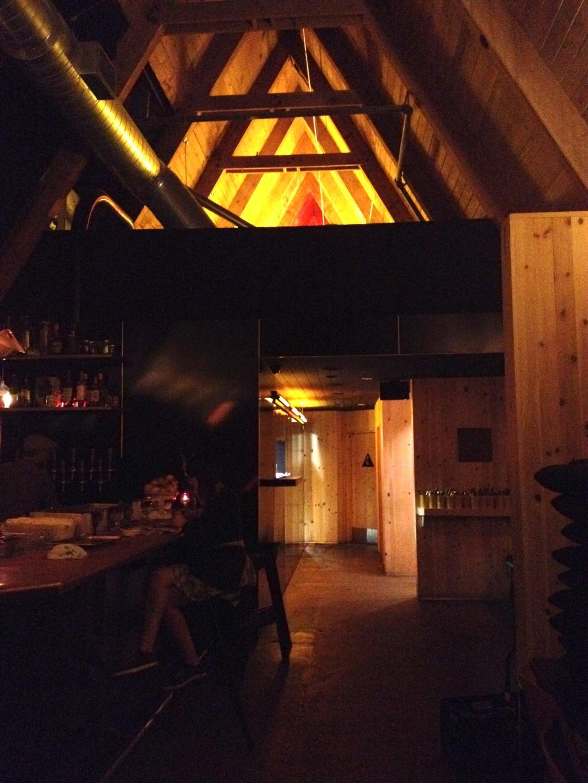 A-Frame interior