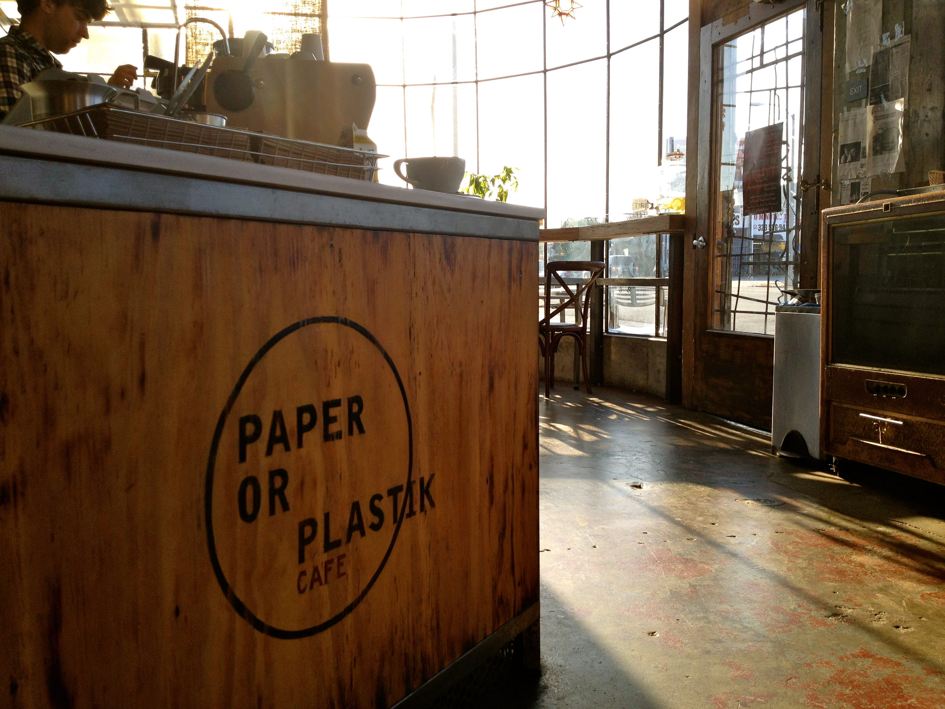 Coffee Shop Near Paper Or Plastik Cafe