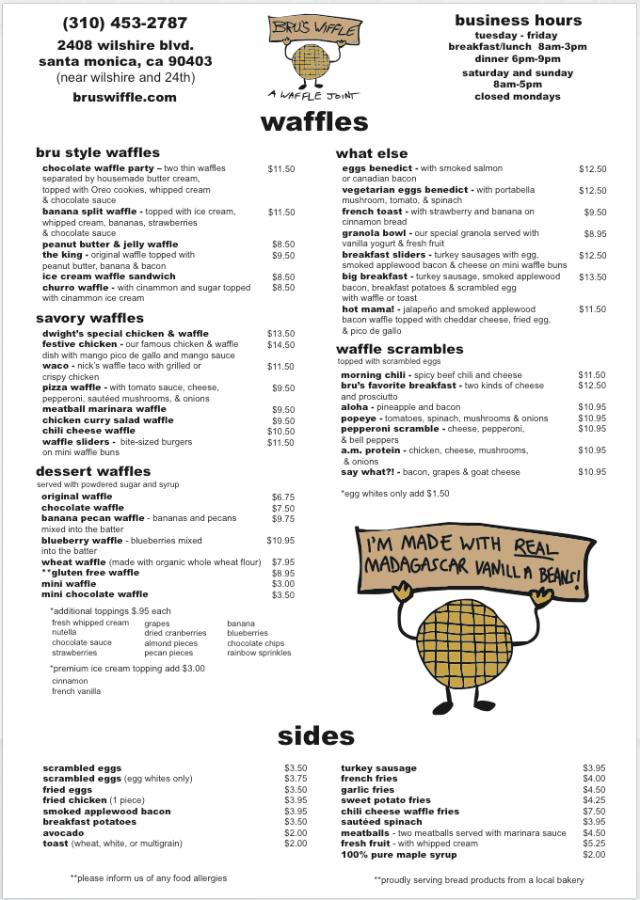 all waffles